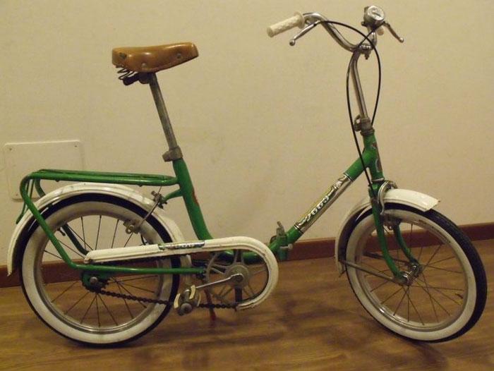 """restyling bici originale Atala 2000 fine anni 70 ruote 16"""""""