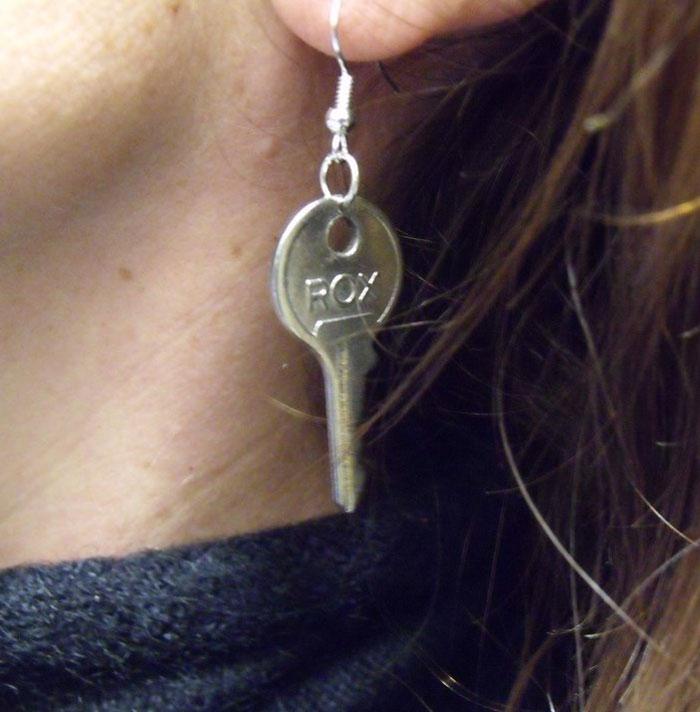 """orecchino """"chiave"""""""