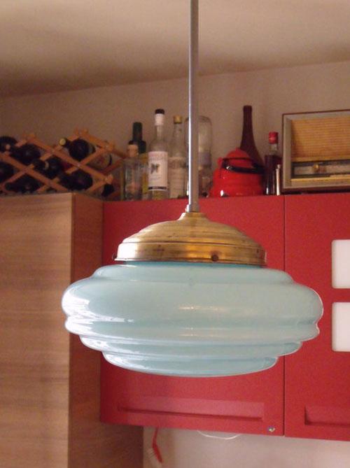 restyling lampadario anni 60