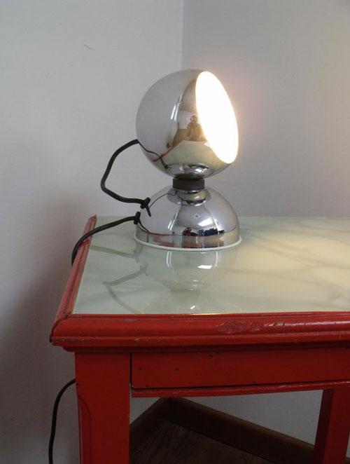 restyling lampada anni 70
