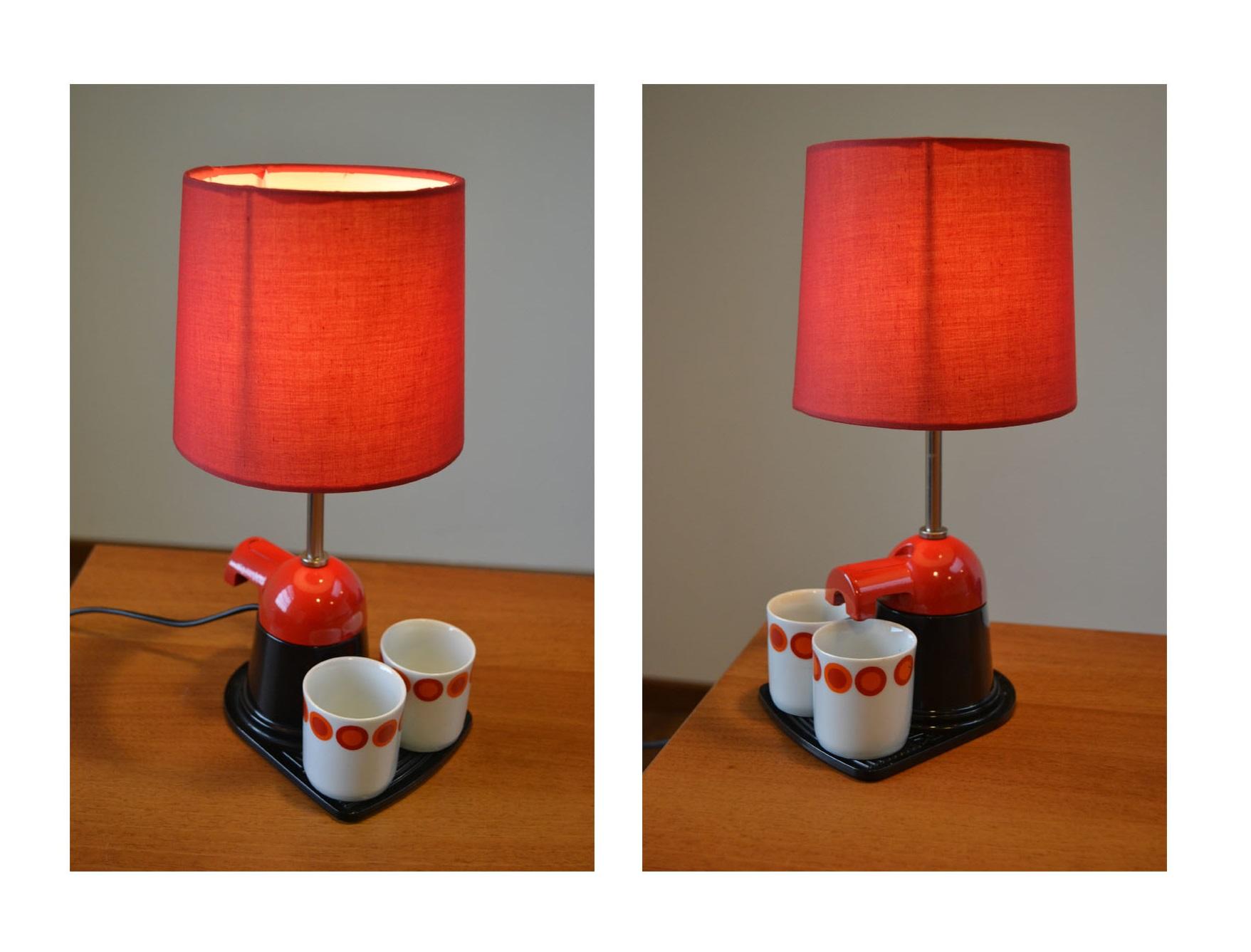 "lampada caffettiera ""Mini Bar"""