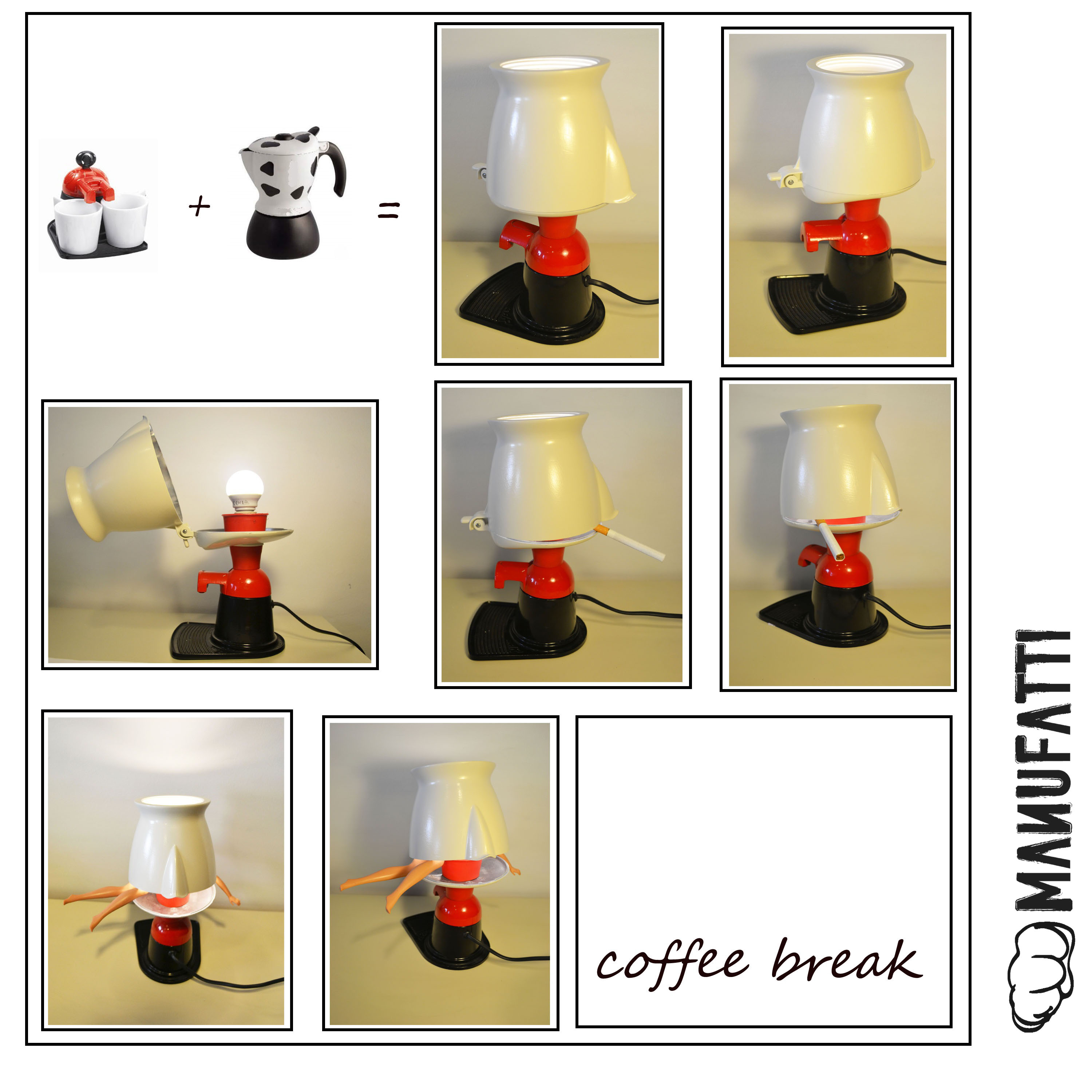 "lampada ""Coffee Break"""