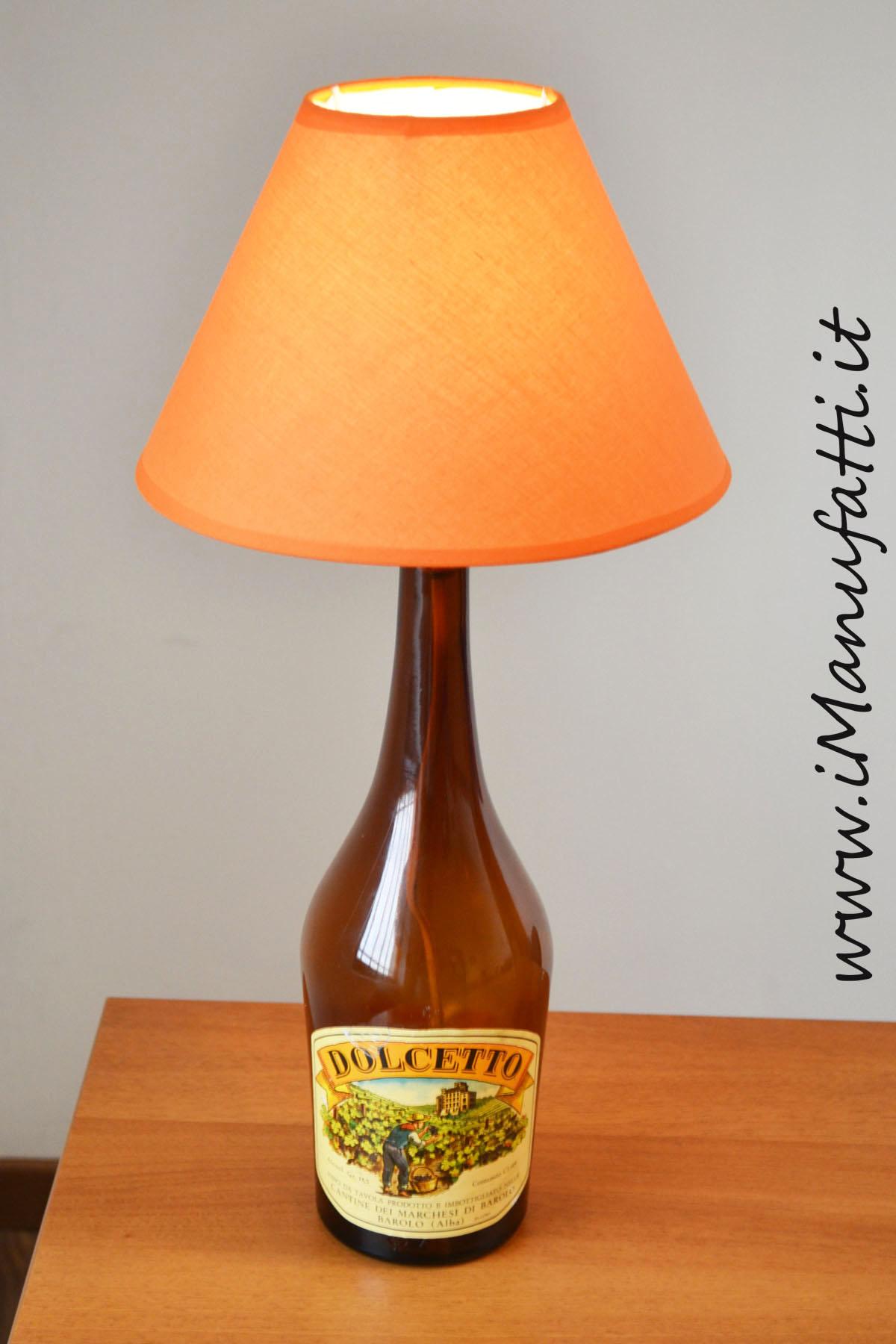 """lampada """"Dolcetto d'Alba d'annata"""""""