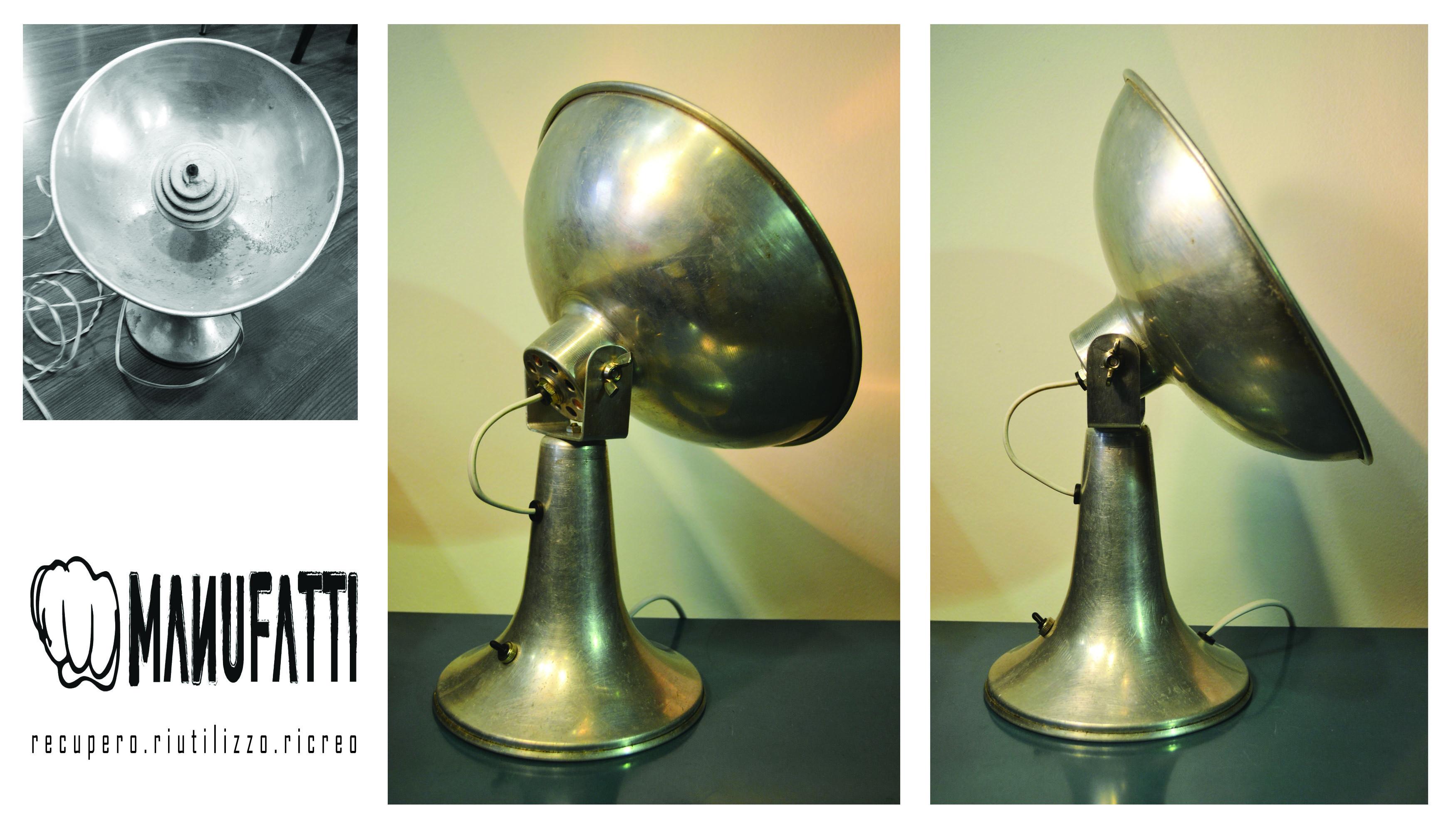 Lampada exstufettaelettrica anni 60