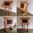 Tecnigrafo porta monitor/tv