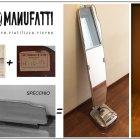"""Specchio + Lucidatrice """"San Giorgio"""" anni 60'"""