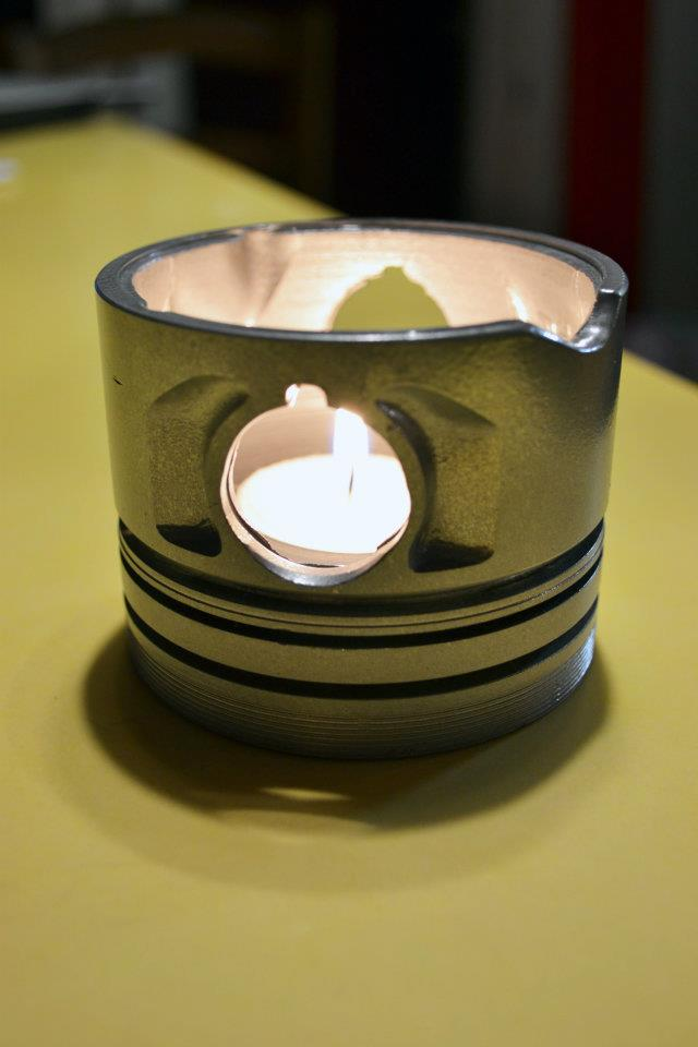 pistone porta candela