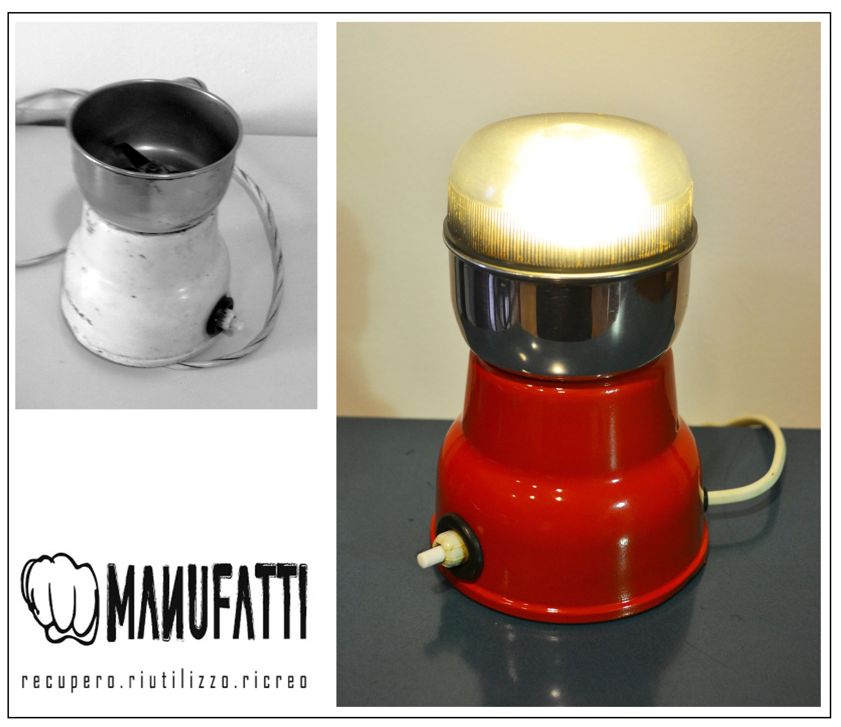 "lampada ""frullatore"" Moulinex"