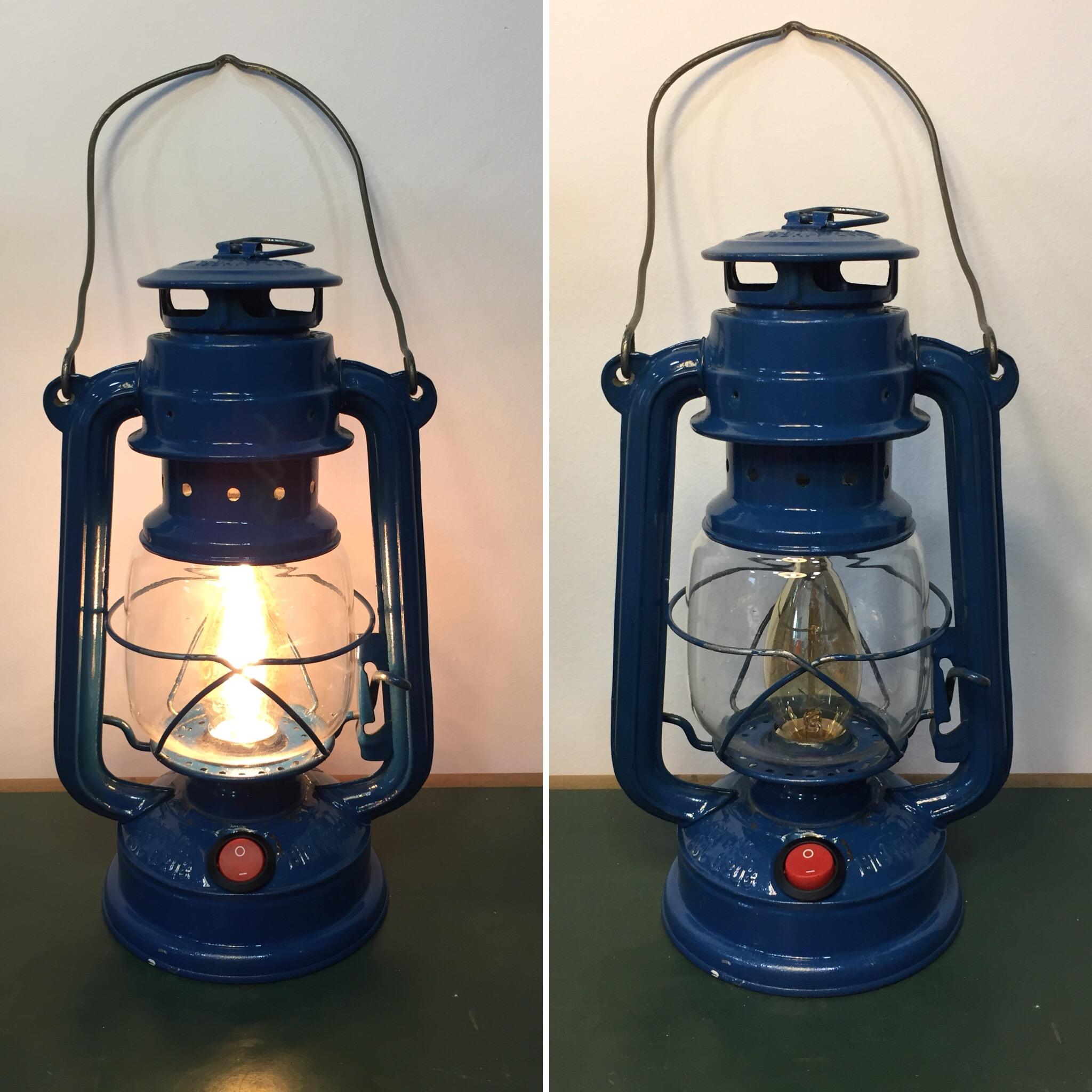 lampada a petrolio (conversione)