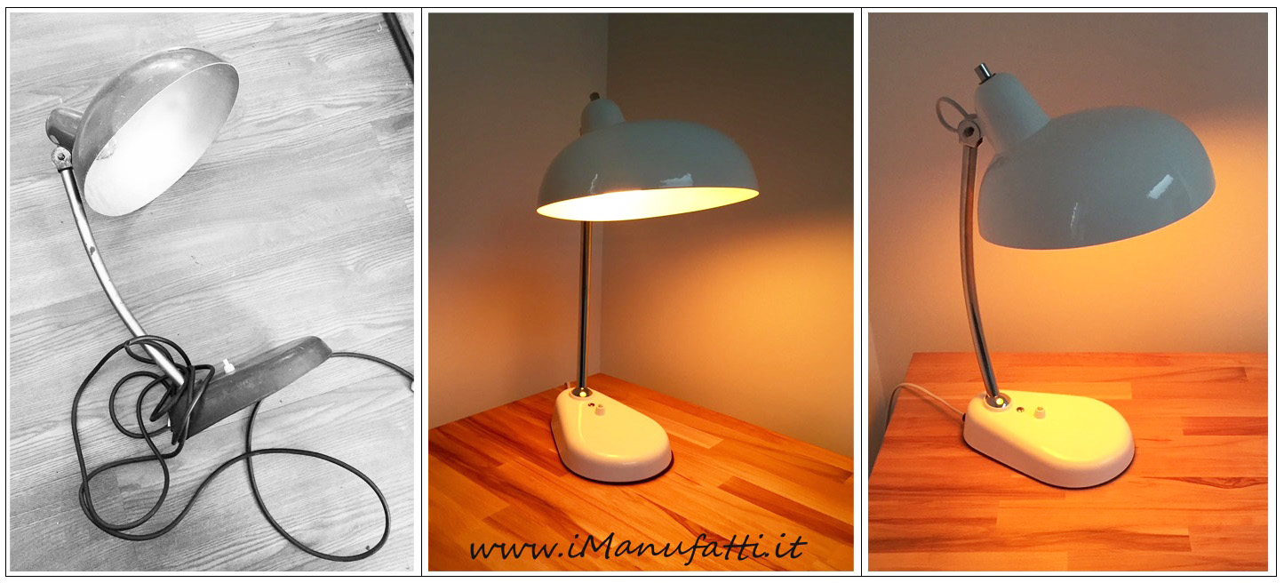 """restyling lampada """"ministeriale"""""""
