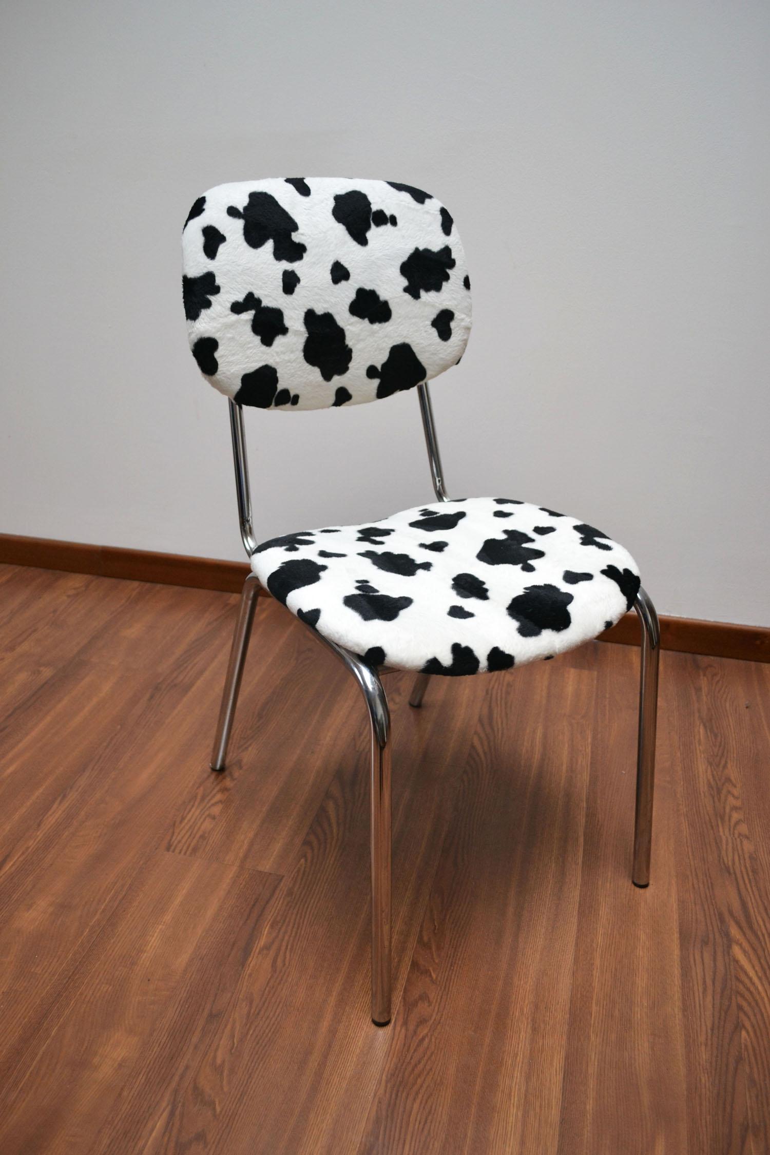 """sedia """"Pezzata Nera"""""""