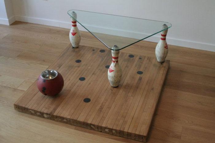 """""""slip""""  tavolino bowling"""